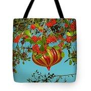 Berry Christmas Tote Bag