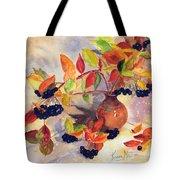 Berry Harvest Still Life Tote Bag
