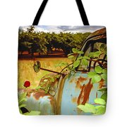 Berry Old Truck 2 Tote Bag