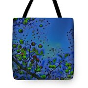 Berry Sky Magic By Jrr Tote Bag