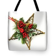 Berry Star Tote Bag