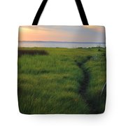 Beside The James Tote Bag
