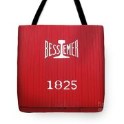 Bessemer Train Tote Bag
