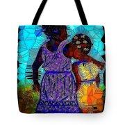 Best Friends Mosaic Tote Bag