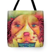 Best In Show Dog A Tude One Tote Bag