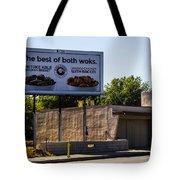 Best Of Both Woks Tote Bag