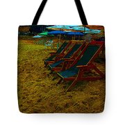Best Seats In The House...beachside Tote Bag