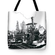 Best Steam Traction Engine Tote Bag