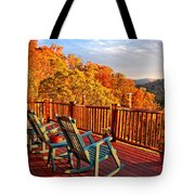 Best View In Town  Tote Bag