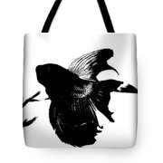 Beta In Black And White Tote Bag