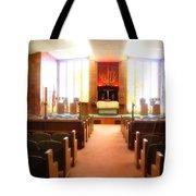 Beth El Jacob Temple In Des Moines Tote Bag