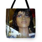 Bethany In Bangs Tote Bag