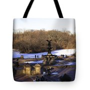 Bethesda Fountain 2013 - Central Park - Nyc Tote Bag by Madeline Ellis