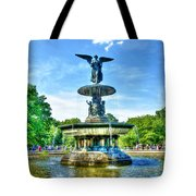 Bethesda Fountain At Central Park Tote Bag