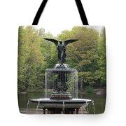 Bethesda Fountain Central Park Nyc Tote Bag