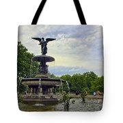 Bethesda Fountain II Tote Bag