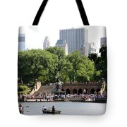 Bethesda Terrace And Fountian Nyc Tote Bag