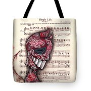 Betrayed  Tote Bag by Abril Andrade Griffith