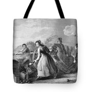 Betsy Doyle A Soldiers Wife Helping Tote Bag