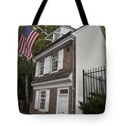Betsy Ross House Philadelphia Pennsylvania Tote Bag