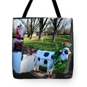 Betsy The Red Nose Moo-cow Tote Bag