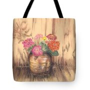Betsy's Flowers 2 Tote Bag