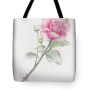 Betsy's Rose Tote Bag