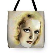 Bette Davis Eyes Tote Bag