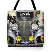 Betty Boop And Her Big Headlights Tote Bag