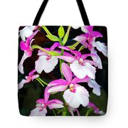 'betty' Orchid Tote Bag