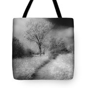 Between Black And White-23 Tote Bag