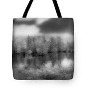 Between Black And White-24 Tote Bag
