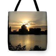 Between Day And Night Tote Bag