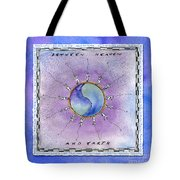Between Heaven And Earth Tote Bag by Diane Thornton