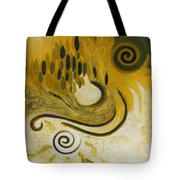 Between Heaven And Hell Tote Bag