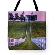 Between The Fences Tote Bag