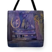 Between The Layers Tote Bag