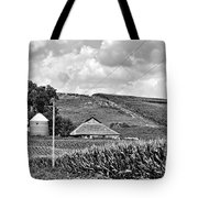 Between The Lines - Bw Tote Bag