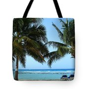 Between The Palms Tote Bag