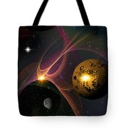 Betwixt 2 And 4 Tote Bag