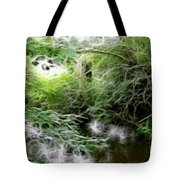 Phallic In The Grass Tote Bag