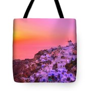 Bewitched Sunset Tote Bag