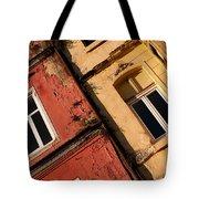 Beyoglu Old Houses 03 Tote Bag