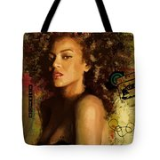 Beyonce Tote Bag by Corporate Art Task Force