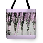 Beyond A Garden's Picket Fence Tote Bag