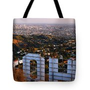Beyond Hollywood Tote Bag