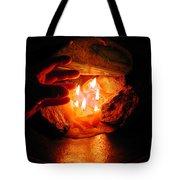 Beyond Light Zen Meditation Connection  Tote Bag
