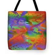 Beyond The Albatross Rainbow Tote Bag