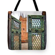 Beyond The Courtyard Gate Tote Bag
