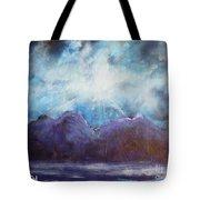 Beyond The Purple Hills Tote Bag